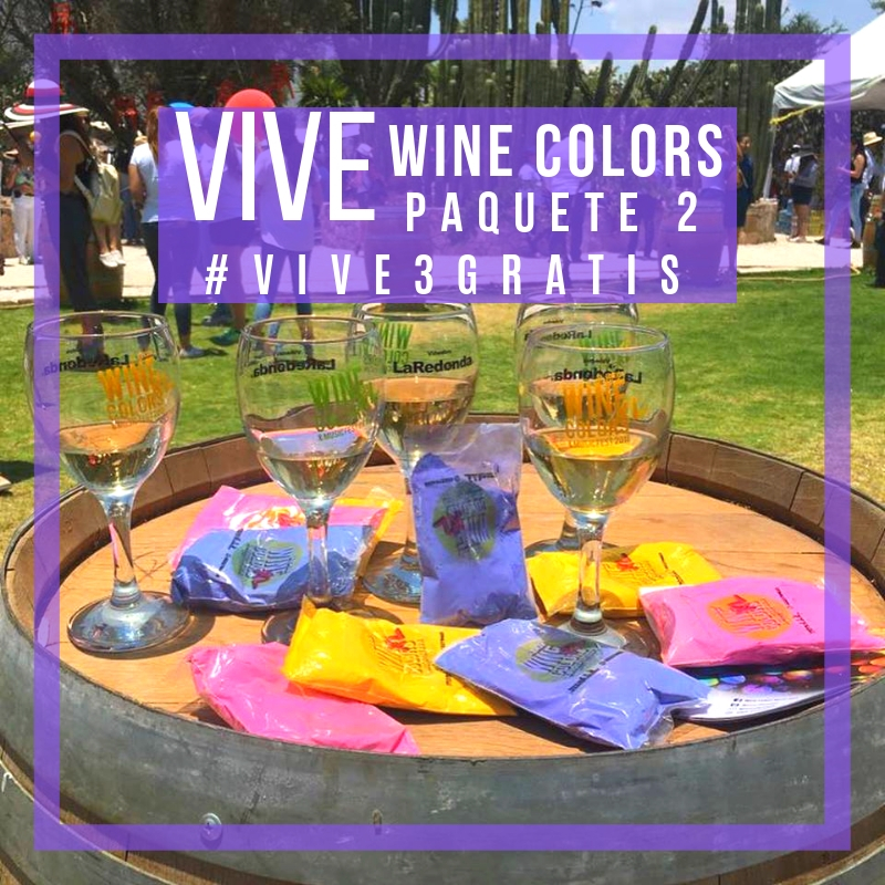 VIVE WINE COLORS PAQUETE 2