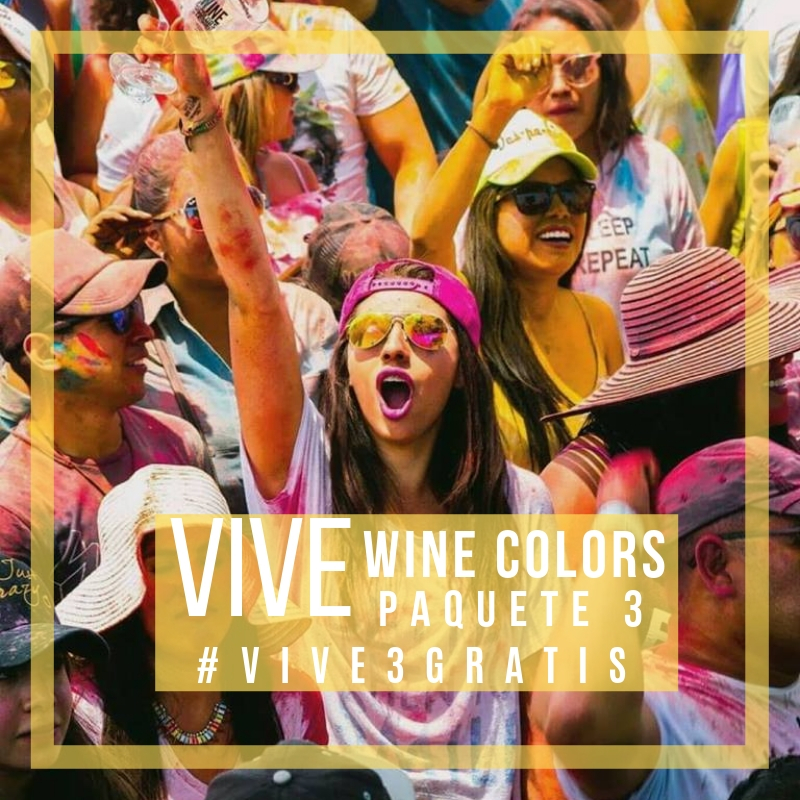 VIVE WINE COLORS PAQUETE 3