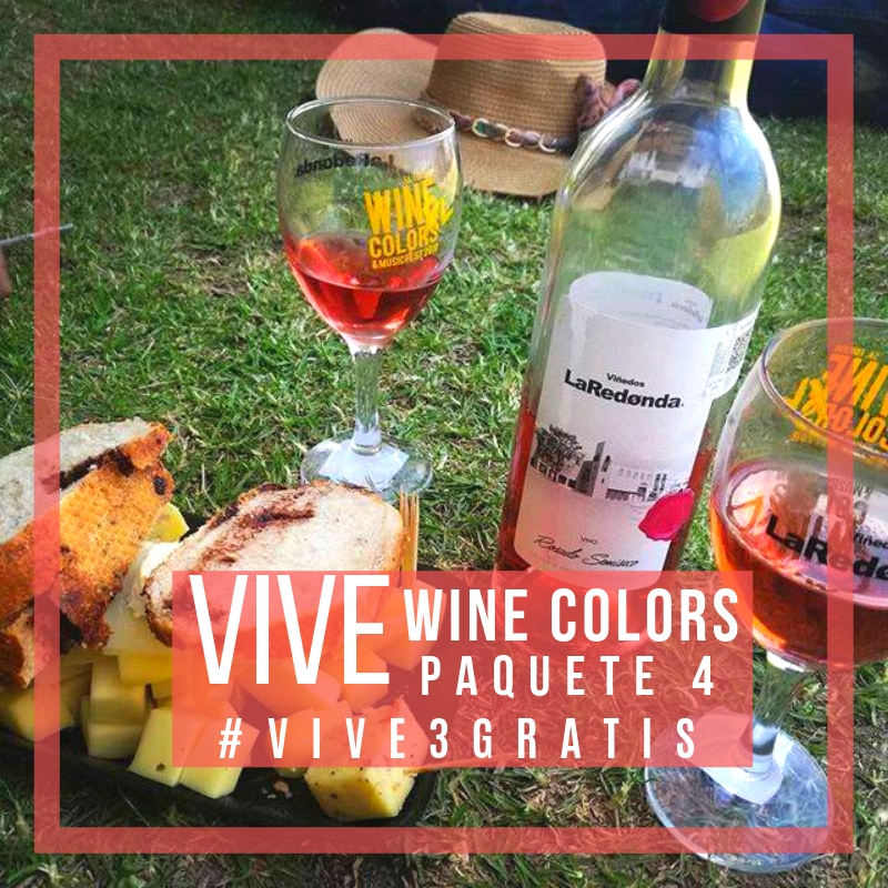 VIVE WINE COLORS PAQUETE 4