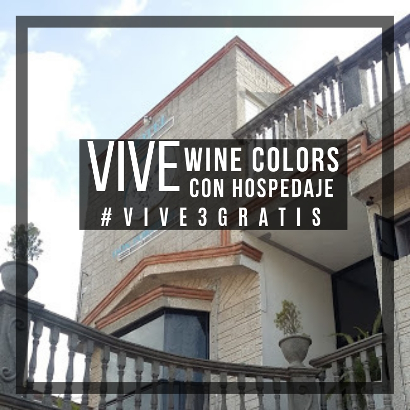 VIVE WINE COLORS CON HOSPEDAJE